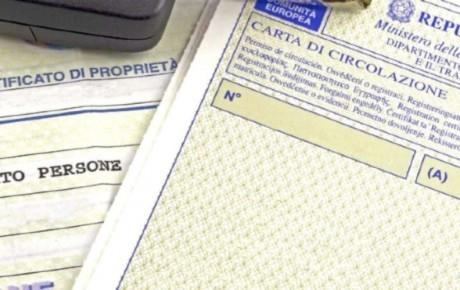 Leggere la carta di circolazione
